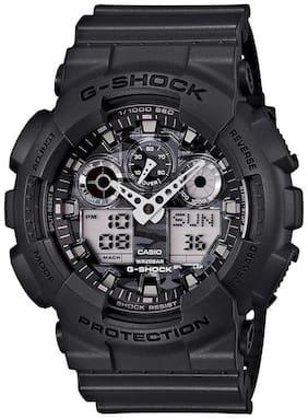 Men Black Analog-Digital Watches