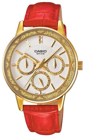 Casio Enticer Lady's LTP-2087GL-4AVDF (A910) Analog Watch for Women