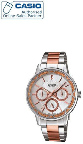 Casio Enticer Lady's LTP-2087RG-7AVDF (A902) Analog Watch for Women