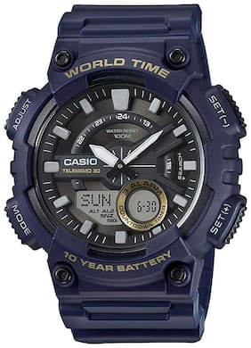Casio Youth Combination AEQ-110W-2AVDF (AD208) Analog-Digital Watch for Men