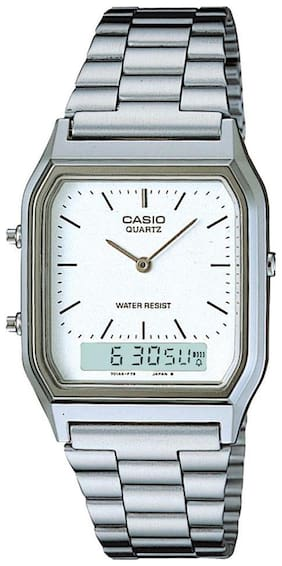 Casio Vintage Series AQ-230A-7DMQ (AD03) Analog-Digital Watch for Men & Women