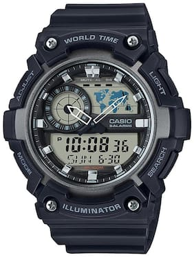 Casio Youth Combination AEQ-200W-1AVDF (AD210) Analog-Digital Watch for Men