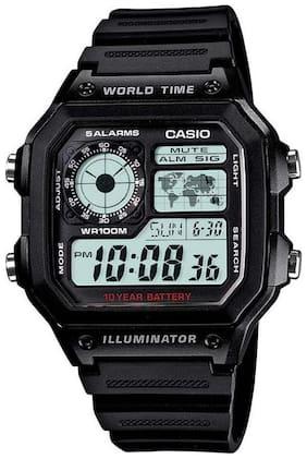 Men Grey Digital Watch