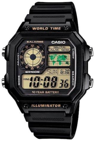 Casio D098 Men Green - Digital Watch