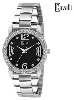 Cavalli  Analogue Black Dial Elegant Watch-for Women;Girls