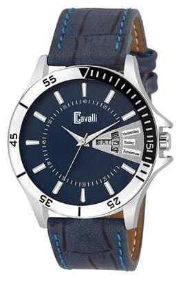 Cavalli  Analogue Blue Dial Exclusive Men's Day & Date (Working)  Watch