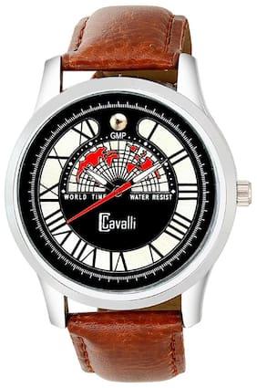 Cavalli  Analogue Black Designer Dial Watch