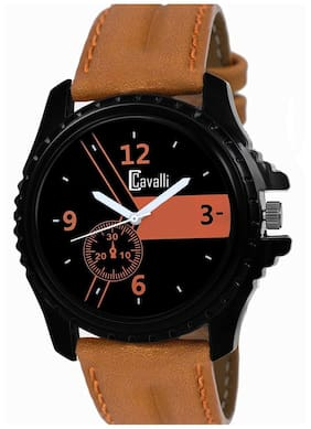 Cavalli  Analog Black Dial Men's Watch 332-BR