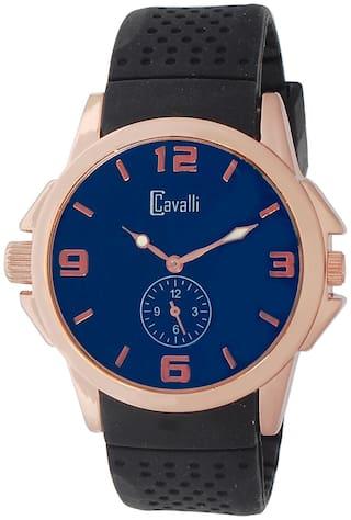 Cavalli Black Analog Watch