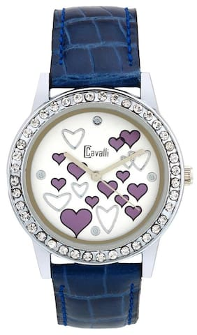 Cavalli Blue Analog Women's Watch