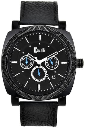 Cavalli  Fosillo Black Dial Mens And Boys Watch CW-345