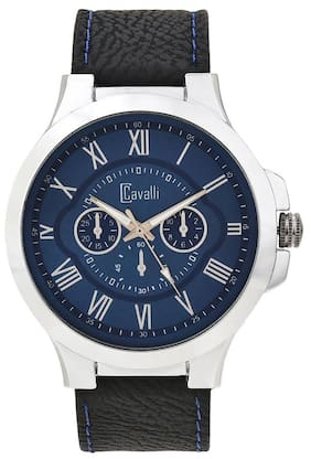 Cavalli  Fosillo Analogue Blue Dial Roman Mens And Boys Watch-CW251
