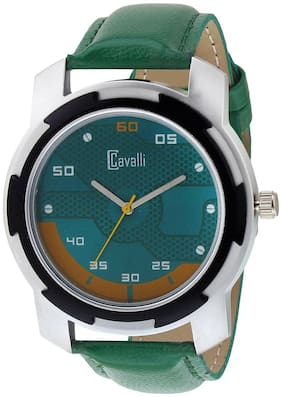 Cavalli  EXCLUSIVE SERIES CW453 Chrome Designer Case Green Dial Men's Watch
