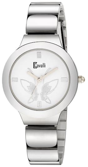 Cavalli  Analogue White Dial Womens And Girls Watch- CW480