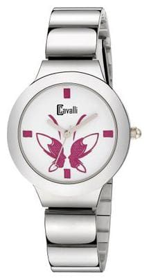Cavalli  Analogue White Dial Womens And Girls Watch- CW481