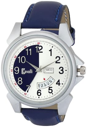 Cavalli  Exclusive Series Blue Dial Day & Date Analog Boys And Mens Watch- CW532
