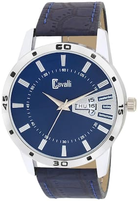 Cavalli  Exclusive Series Blue Designer Dial Day & Date Analogue Boys And Mens Watch-CW483