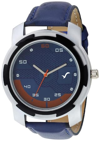 Wrightrack EXCLUSIVE SERIES CW452 Chrome Designer Case Blue Dial Men's Watch