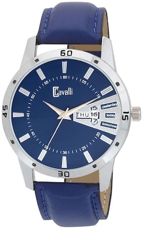 Cavalli  Exclusive Series Blue Designer Dial Day & Date Analogue Boys And Mens Watch-CW497
