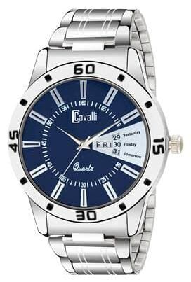 Cavalli  Exclusive Series Blue Dial Day & Date Analog Boys And Mens Watch- CW501
