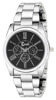 Cavalli  Analogue Black Dial Stainless Steel Case Womens And Girls Watch- CW439