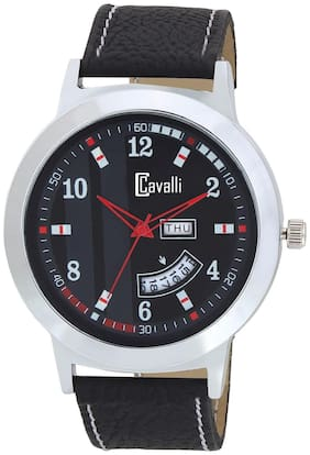 Cavalli  Exclusive Series Black Designer Dial Day & Date Analogue Boys And Mens Watch-CW485