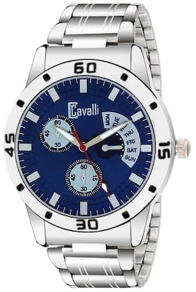 Cavalli  EXCLUSIVE SERIES CW462 Blue Dial Designer Stainless Steel Case Men's Watch