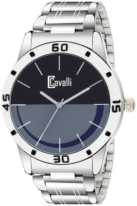 Cavalli Exclusive Series Quartz Movement Black Grey Dial Analogue Boys And Mens Watch (CW500