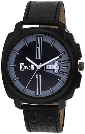 Cavalli  Exclusive Series Black Designer Dial Day & Date Analogue Boys And Mens Watch-CW495