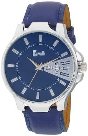 Cavalli  Exclusive Series Blue Designer Dial Day & Date Analogue Boys And Mens Watch-CW486