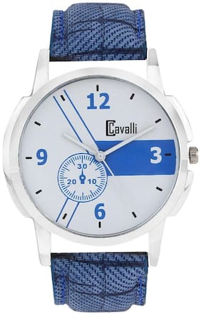 Cavalli  CW410 Exclusive White Dial Watch - For Men