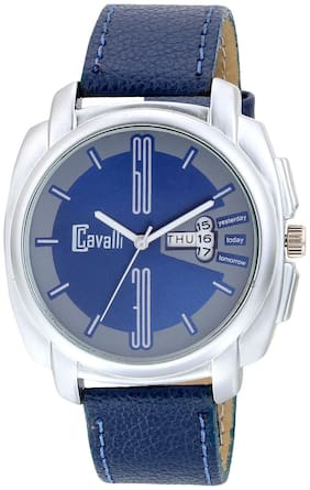 Cavalli  Exclusive Series Blue Designer Dial Day & Date Analogue Boys And Mens Watch-CW465