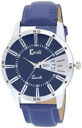 Cavalli  Exclusive Series Blue Designer Dial Day & Date Analogue Boys And Mens Watch-CW484