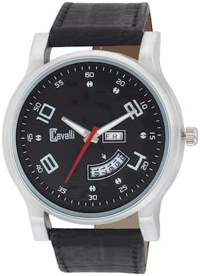 Cavalli  Exclusive Series Black Designer Dial Day & Date Analogue Boys And Mens Watch-CW488