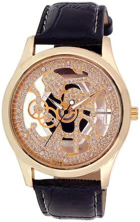 Cavalli Men's Black Analog Watch