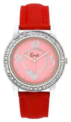Cavalli Red Analog Women's Watch