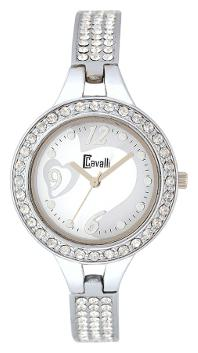 Cavalli White Dial Elegant Fully Studded Love Watch for Women;Girls by Watch Material Corporation