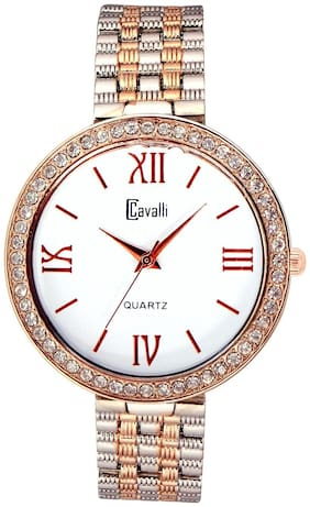 Cavalli Women's Two tone Silver/Gold Analog Watch