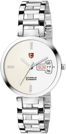 Charlie Carson day & date Functional watch for women-CC461G
