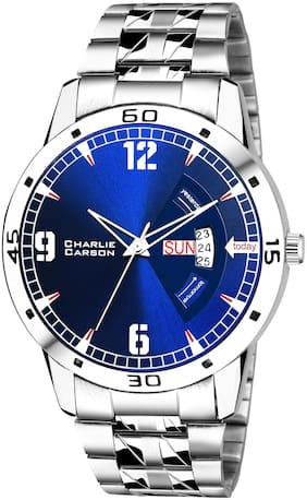 Charlie Carson blue day & date Functional Watch for men-CC262M