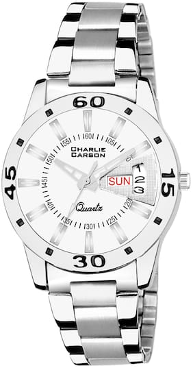 Charlie Carson Day & Date new analog watch for women-CC183G