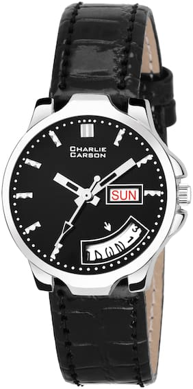 Charlie Carson Day & Date new analog watch for women-CC177G