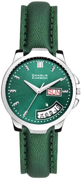 Charlie Carson day and date watch for women-CC202G