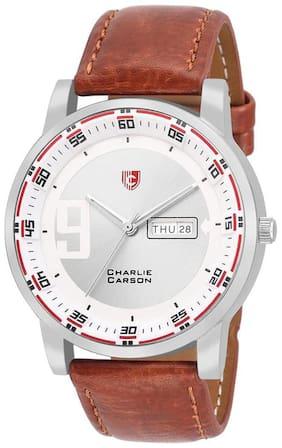 Charlie Carson day & date elegant watch - CC025M