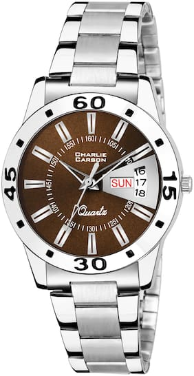 Charlie Carson day & date Functional watch for women-CC457G