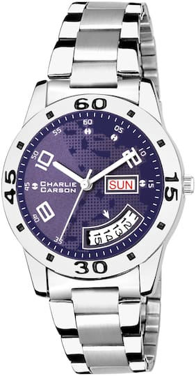 Charlie Carson Day & Date new analog watch for women-CC185G