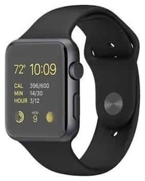 TSV A1 Bluetooth Smart Watch with Camera and Sim Card Support;and Fitness Band Feature Compitable with All Smart Phones (Black)