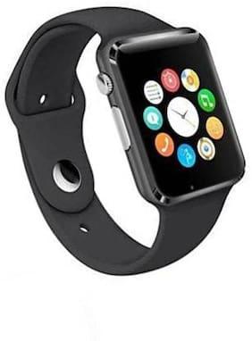 CHG Black Smart Watch For Unisex