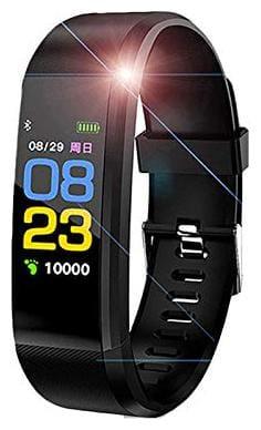 CHG ID 115 Unisex 33 mm Black Fitness Band & Trackers