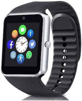 Crystal Digital GT08 Smart Watch Phone 100H Standby Time Support SIM Card Bluetooth Smartwatch with Camera Music Play for Android iPhone